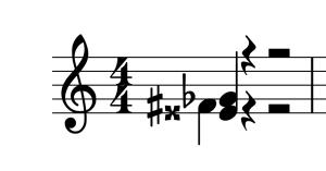 MuseScore Vorzeichen